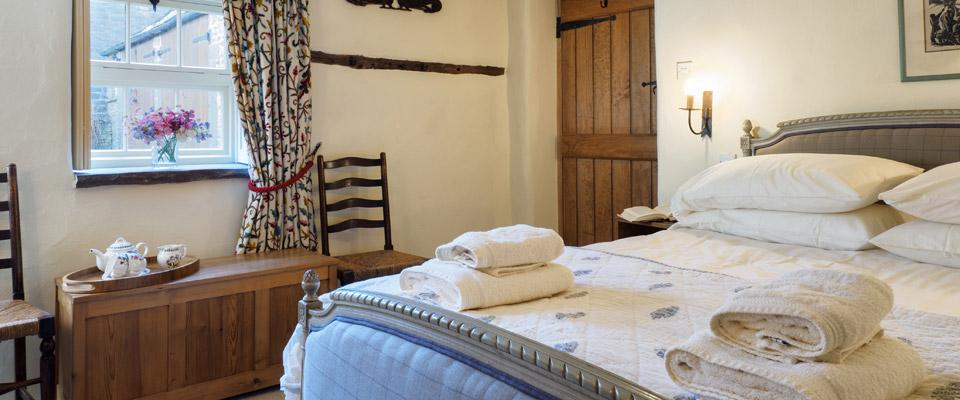 Bedroom at Hope Farm House Barn