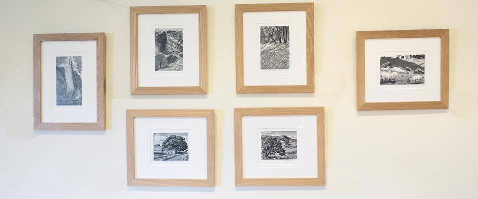 Wood Engravings at Hope Farm House Barn